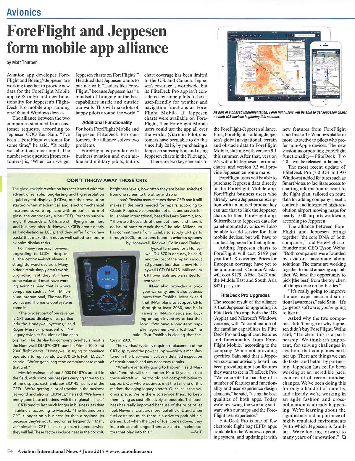 Recent AIN Editorial